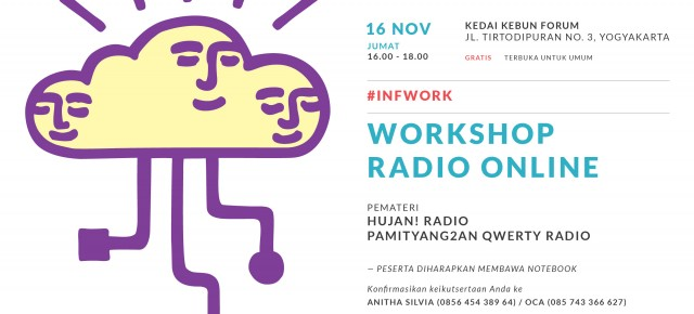 #INFWORK - WORKSHOP RADIO ONLINE