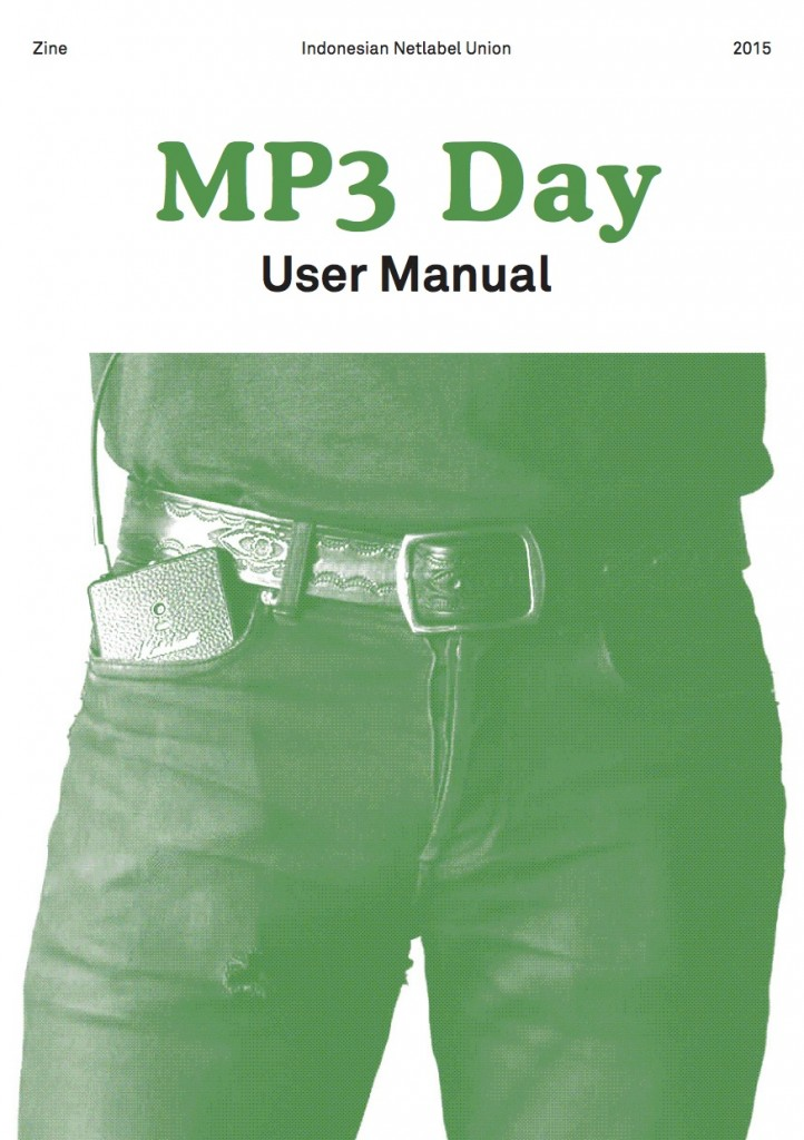 Cover INU MP3 Day Zine